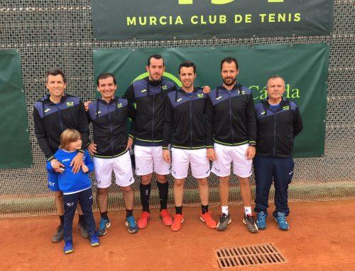El equipo del Murcia Club de Tenis 1919 vuelve a la final del campeonato de españa +35 de tenis