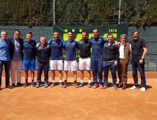 El Murcia Club de Tenis 1919, campeón de España por equipos +35