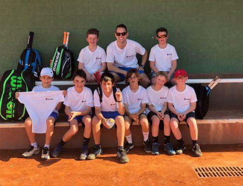 Confrontación amistosa de alevines: Murcia Club de Tenis 1919 – Tennis Edge Norwich (Inglaterra).