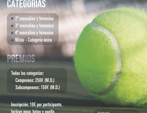 I Open Social de Pádel MCT1919 – Trofeo CASER Seguros
