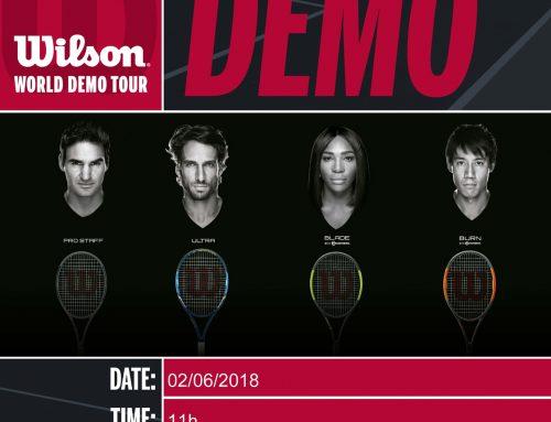 Demostración raquetas Wilson 2018