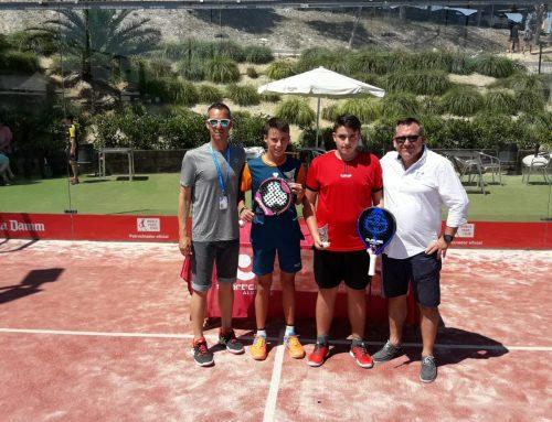 Jaime Rubio conquista el Campeonato Autonómico de Alicante de pádel en categoría cadete