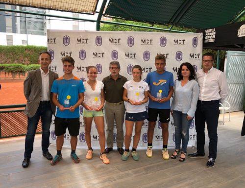 Ariana Geerlings, subcampeona del Madrid Open sub16 en el Murcia Club de Tenis 1919