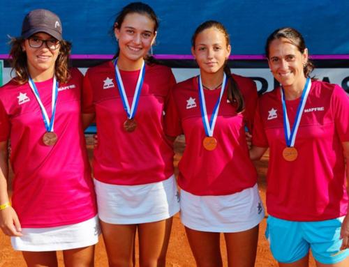 Alba Rey se cuelga el bronce con España en la Summer Cup