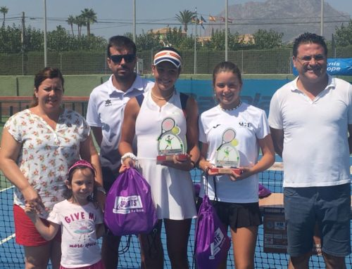Ariana Geerlings, finalista del European Tennis Sub-14
