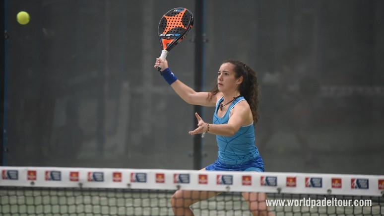 Araceli Martínez, jugadora del MCT1919, campeona de España junior de pádel
