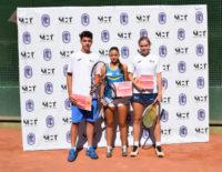 Alba Rey, Alexandra Evdomikova y Fernando Pérez Ródenas