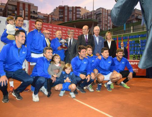 El Murcia Club de Tenis gana el Campeonato de España por equipos