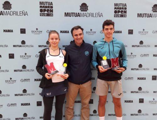 Ariana Geerlings, campeona en la prueba del Circuito Mutua Madrid Open en Sevilla