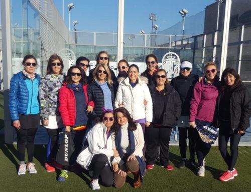 Éxito de celebración en el torneo de mini-pádel femenino