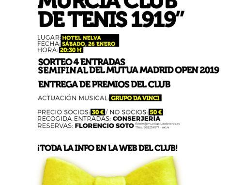 Gala Anual Murcia Club de Tenis 1919