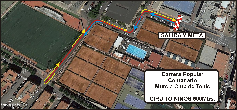 CARRERA 500M