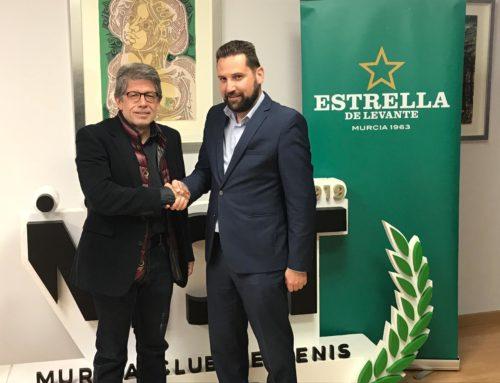 Estrella de Levante renueva su colaboración con el Murcia Club de Tenis