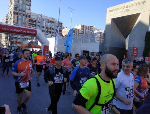 Más de 500 corredores populares se vuelcan con la Carrera Solidaria Centenario MCT 1919