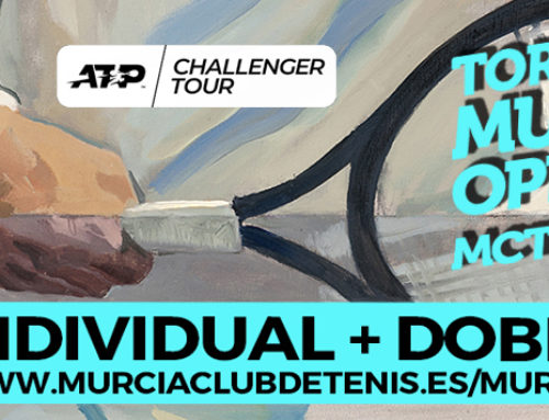 Ya disponible la web del Challenger Murcia Open