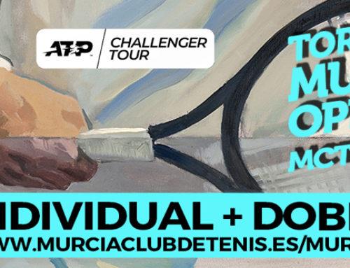 Ya disponible la web del Challenger Murcia Open