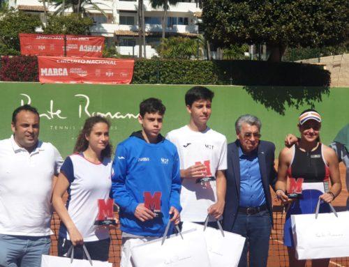 Jugadores MCT1919 finalistas del Marca Promesas de Marbella