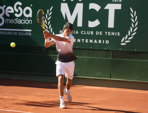 Rudolf Molleker puts an end to the path of Carlos Alcaraz at the Murcia Tennis Club