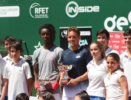 Roberto Carballés, champion of the ATP Challenger Murcia Open