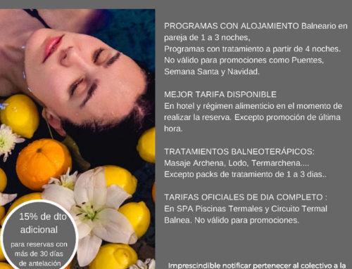 Oferta exclusiva para socios — Balneario de Archena