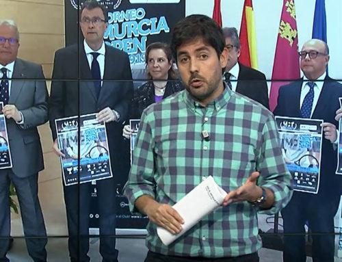 Informativos 7RM: Presentación Challenger Murcia Open en el MCT1919
