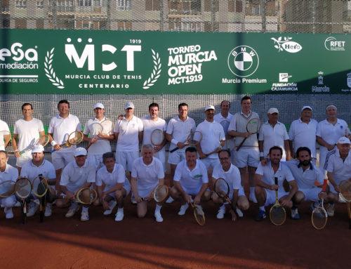 El MCT 1919 rinde homenaje al origen del tenis con el I Torneo de Época (Galería de imágenes)