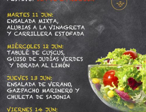 Menú Restaurante MCT1919 — Semana 10 al 14 de junio