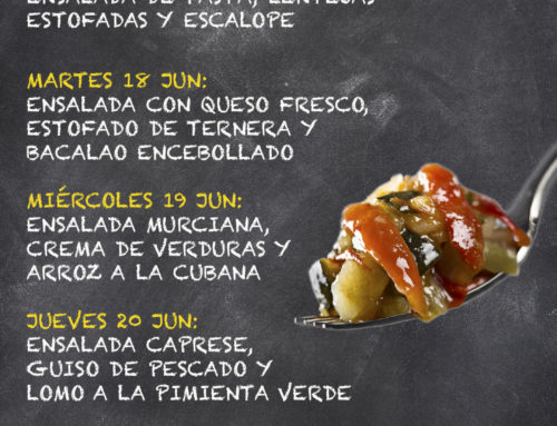 Menú Restaurante MCT1919 — Semana 17 al 21 de junio