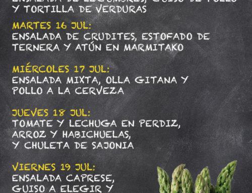 Menú Restaurante MCT1919 — Semana 15 al 19 de julio