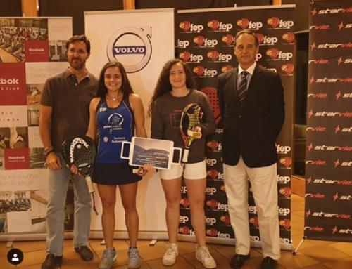Araceli Martínez, subcampeona absoluta de España sub23 de Padel