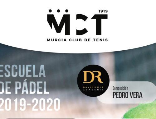Escuela de Pádel 2019-20 en el MCT1919: Escuela de competición, Clinic y Gran Exhibición