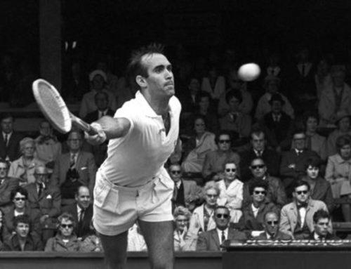 Adiós a Andrés Gimeno, campeón de España en el Murcia Club de Tenis