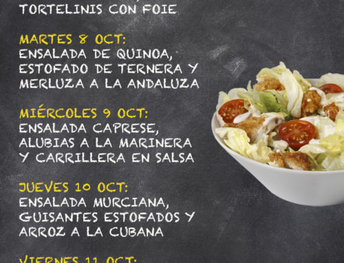 Menú Restaurante MCT1919 — Semana 7 al 11 de octubre