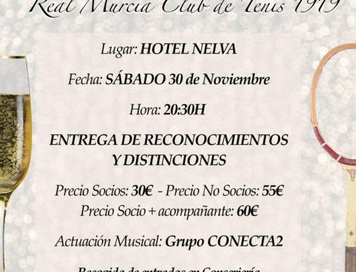 Gala Centenario Real Murcia Club de Tenis 1919