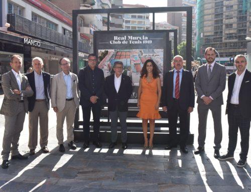 El Real Murcia Club de Tenis y Caja Rural Central celebran juntos sus cien años de vida