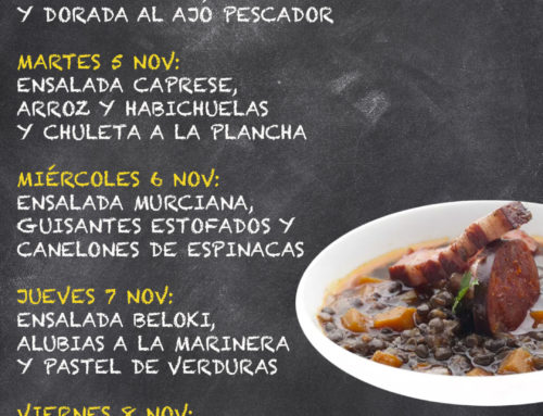 Menú Restaurante MCT1919 — Semana 4 al 8 de noviembre