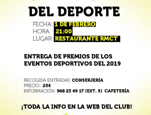 Gala Anual del Deporte – Real Murcia Club de Tenis 1919