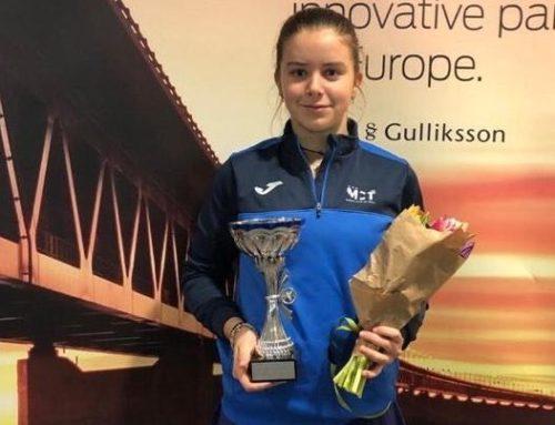 Ariana Geerlings logra con el Real Murcia Club de Tenis su primer título internacional con solo 14 años