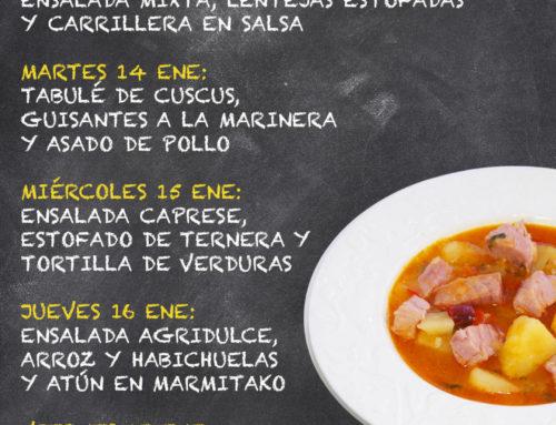 Menú Restaurante MCT1919 — Semana 13 al 17 Enero