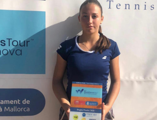 Alba Rey, jugadora del Real Murcia Club de Tenis, alcanza su primera final profesional