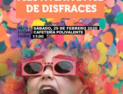 Fiesta de Disfraces Carnaval 2020