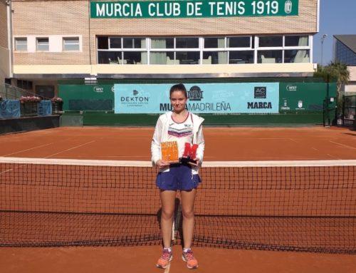 Ariana Geerlings gana el Torneo del Madrid Open sub-16 celebrado en el Real Murcia Club de Tenis