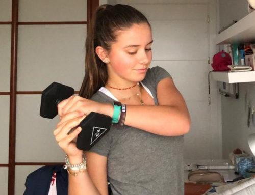 Ariana Geerlings: «Lo que más echo de menos en este tiempo es poder jugar al tenis»