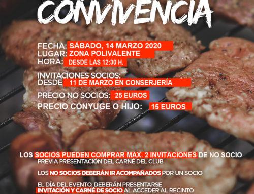 V Jornada de Convivencia Social en MCT- Matanza 2020