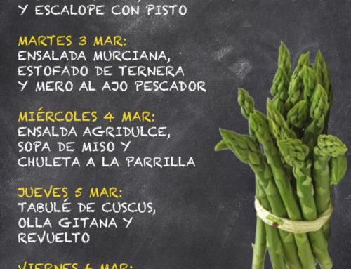 Menú Restaurante MCT1919 — Semana 2 al 7 Marzo