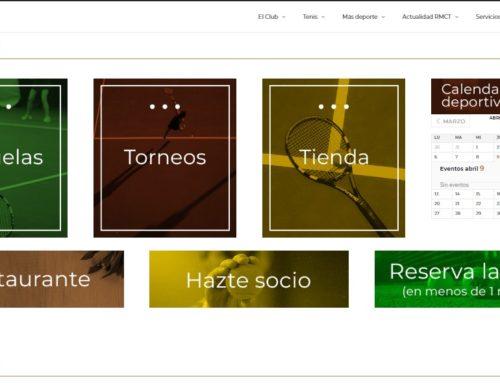 Renovamos la página web para reforzar los contenidos deportivos, sociales e institucionales