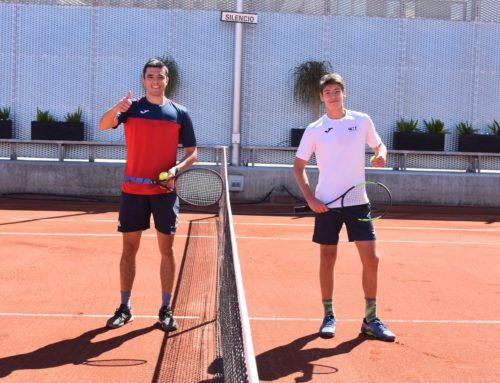 [Galería de imágenes] Reanudamos la actividad con partidos de tenis y pádel y apertura del gimnasio
