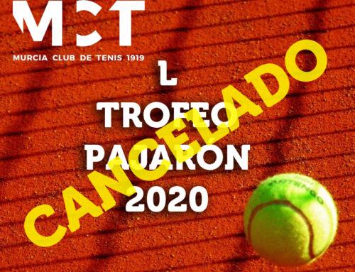Trofeo Pajarón 2020 – CANCELADO
