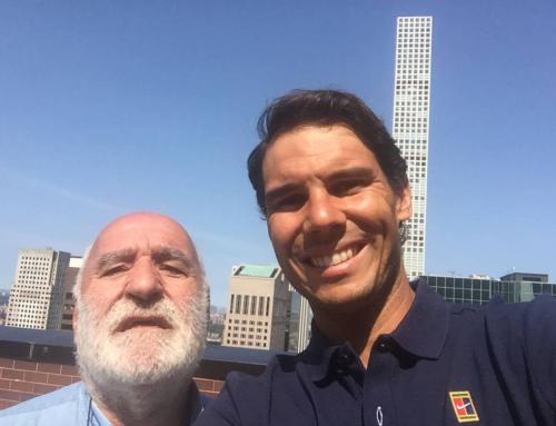 Entrevista con Miguel Ángel Zubiarraín: «Soy 'federista', pero para mí el mejor es Nadal»