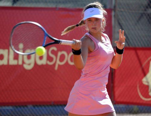 Ariana Geerlings brilla entre las mejores jugadoras españolas en la Liga MAPFRE de Tenis